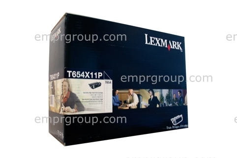 Part Lexmark T654X11P XHY Prebate Cart Lexm T654X11P XHY Prebate Cart